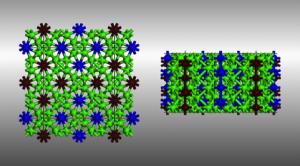 calcium-VII_structure
